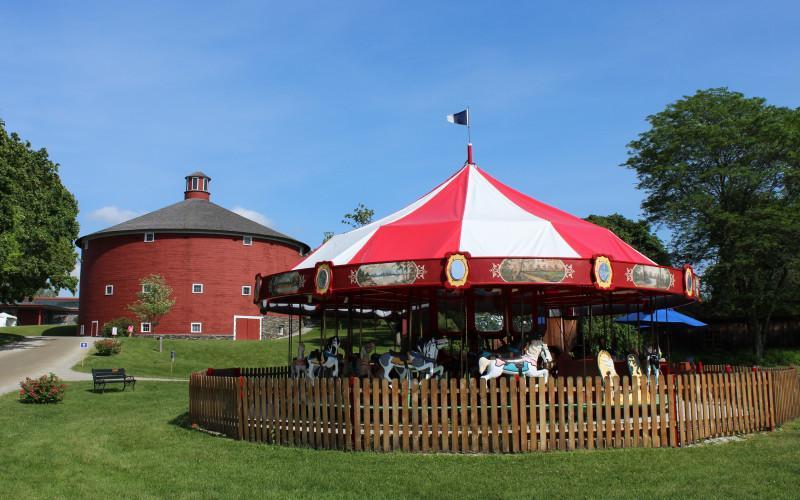 Hear ye, hear ye, hear ye! One Day Only! Circus Palooza at Shelburne Museum!
