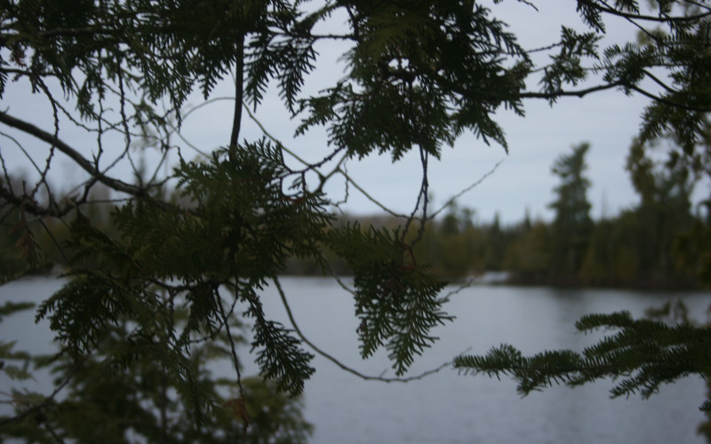 Spring along the Gunflint- Not quite but it is Getting Close