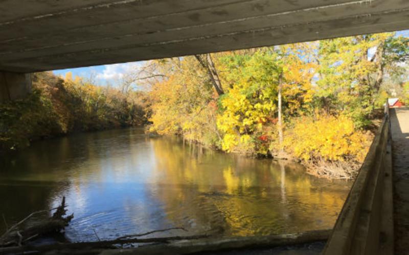 Ann Arbor-Ypsilanti, Michigan, area Fall activites and color trails