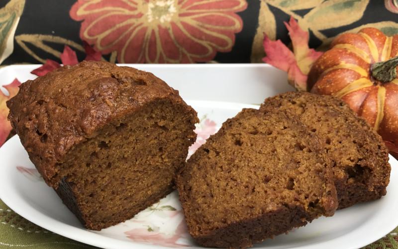 Ann Arbor -Ypsilanti area Parish House Inn Fall recipes:Pumpkin Apple Bread