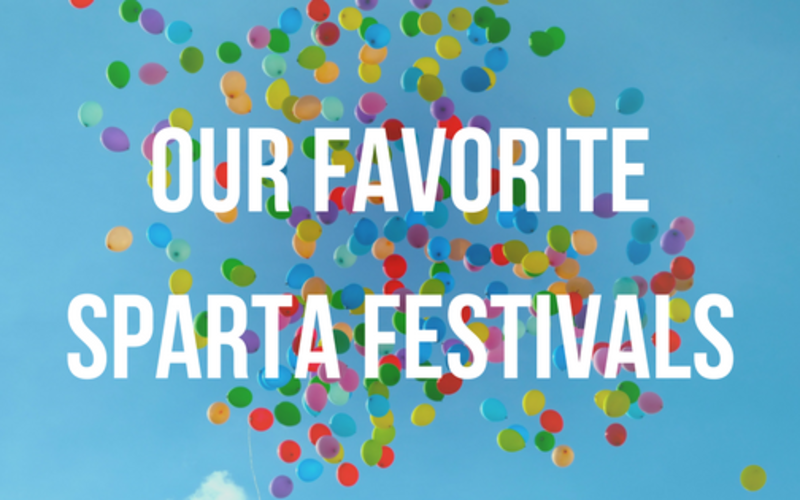 Our Favorite Sparta Festivals