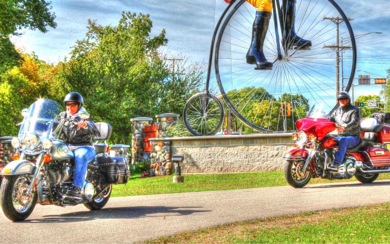 Springtime Motorcycle Rides Driftless Region Wisconsin