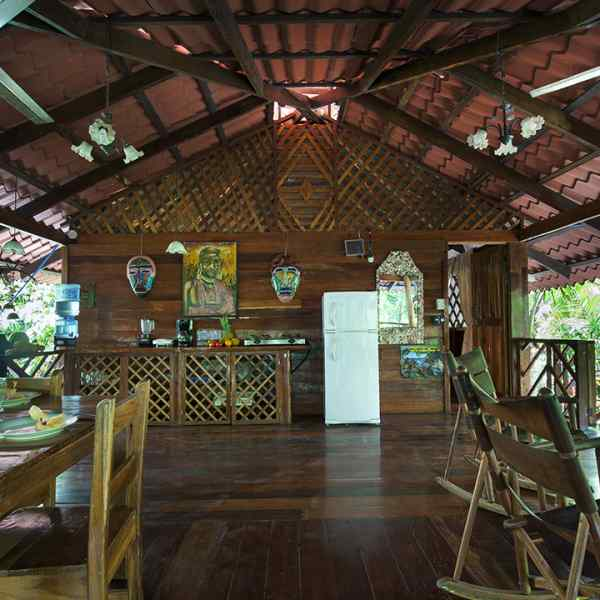 River Dream House - Kitchen & Living Area