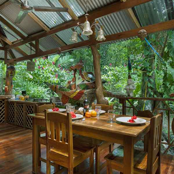 Dream Nature House - Dining Area