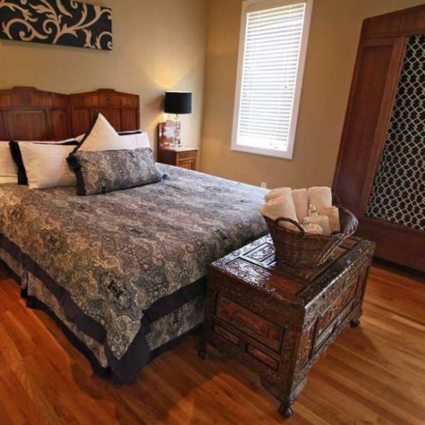 the royal monarch room - master suite at The Villa at Waters Edge - a Luxury Vacation Rental on Lake Wylie in Belmont NC