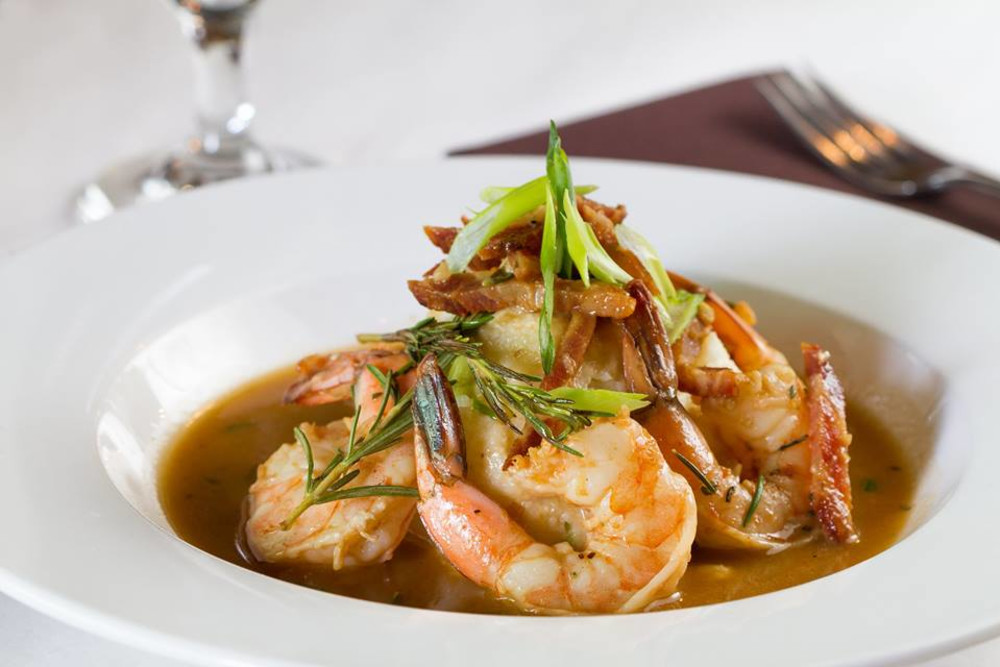 NOLA North Grille Shrimp & Grits with Andouille Gravy