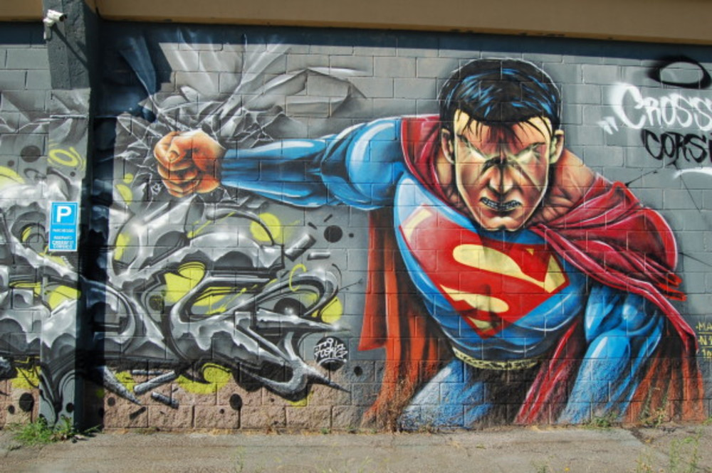 Don 39 t miss the return of comic con palm springs the for Mural meaning