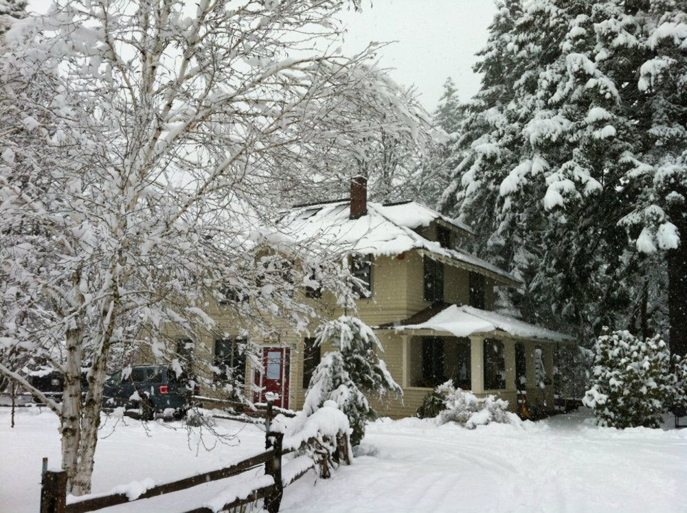 Cozy Winter Nights at the Old Parkdale Inn Bed and Breakfast