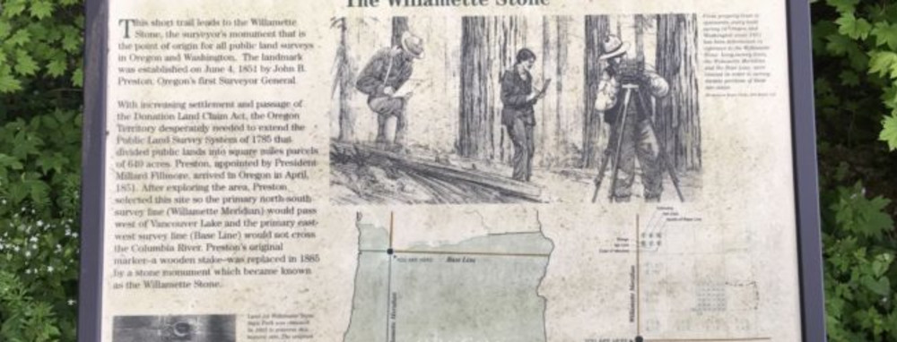 The Willamette Stone State Heritage Site