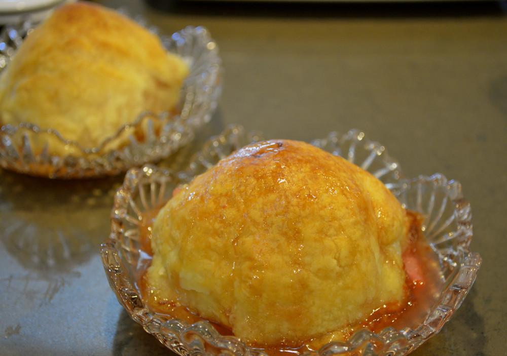 Apple Dumplings at the Old Parkdale Inn