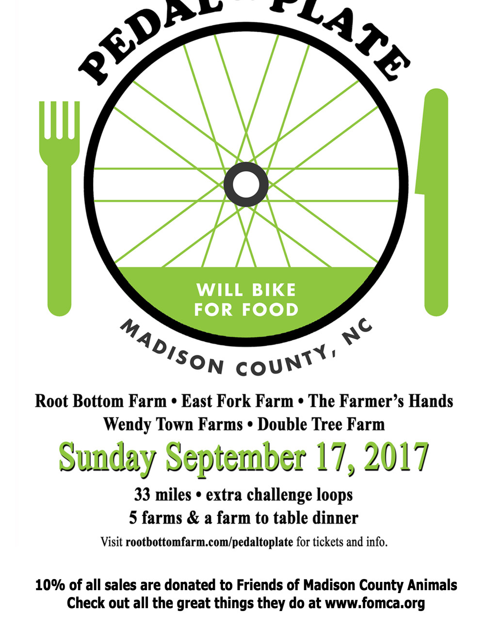 Cyclist gourmands hit the road