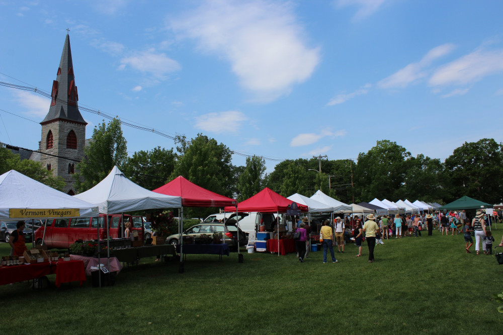 Food and Fun Beckons at Shelburne Farmers Market