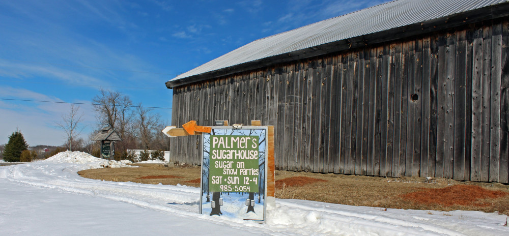 Sugar On Snow, Locally Made Vermont Maple Syrup, And More At Palmer's Sugarhouse