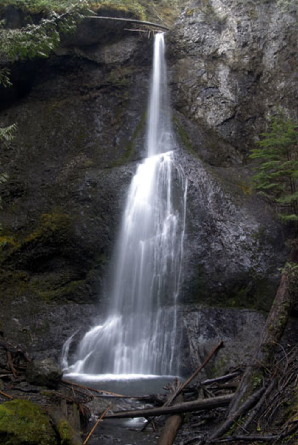 Day 1: Hike to Marymere Falls (trailhead at Lake Crescent)