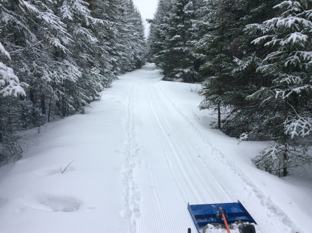 Still have Snow on the Banadad