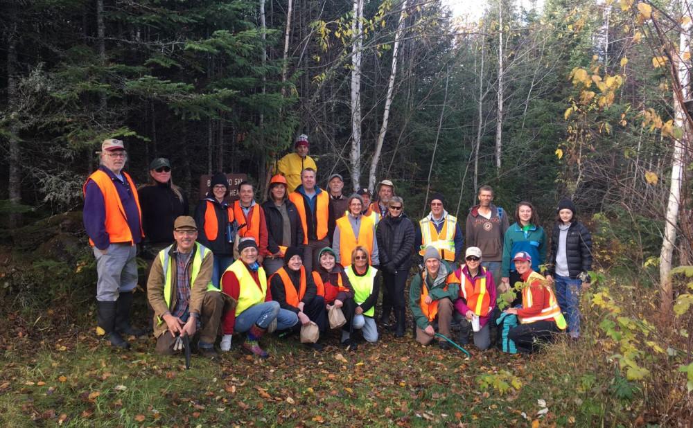 Banadad Trail Association's Trail  Clearing