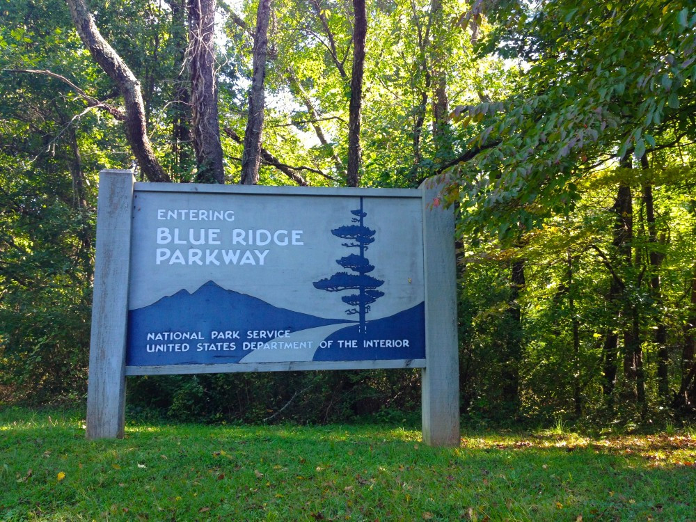 Autumn Scenic Drive on Asheville's Blue Ridge Parkway