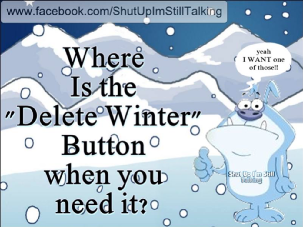 Well here in the central Virginia area last month and the first few days have been crappy, cold and