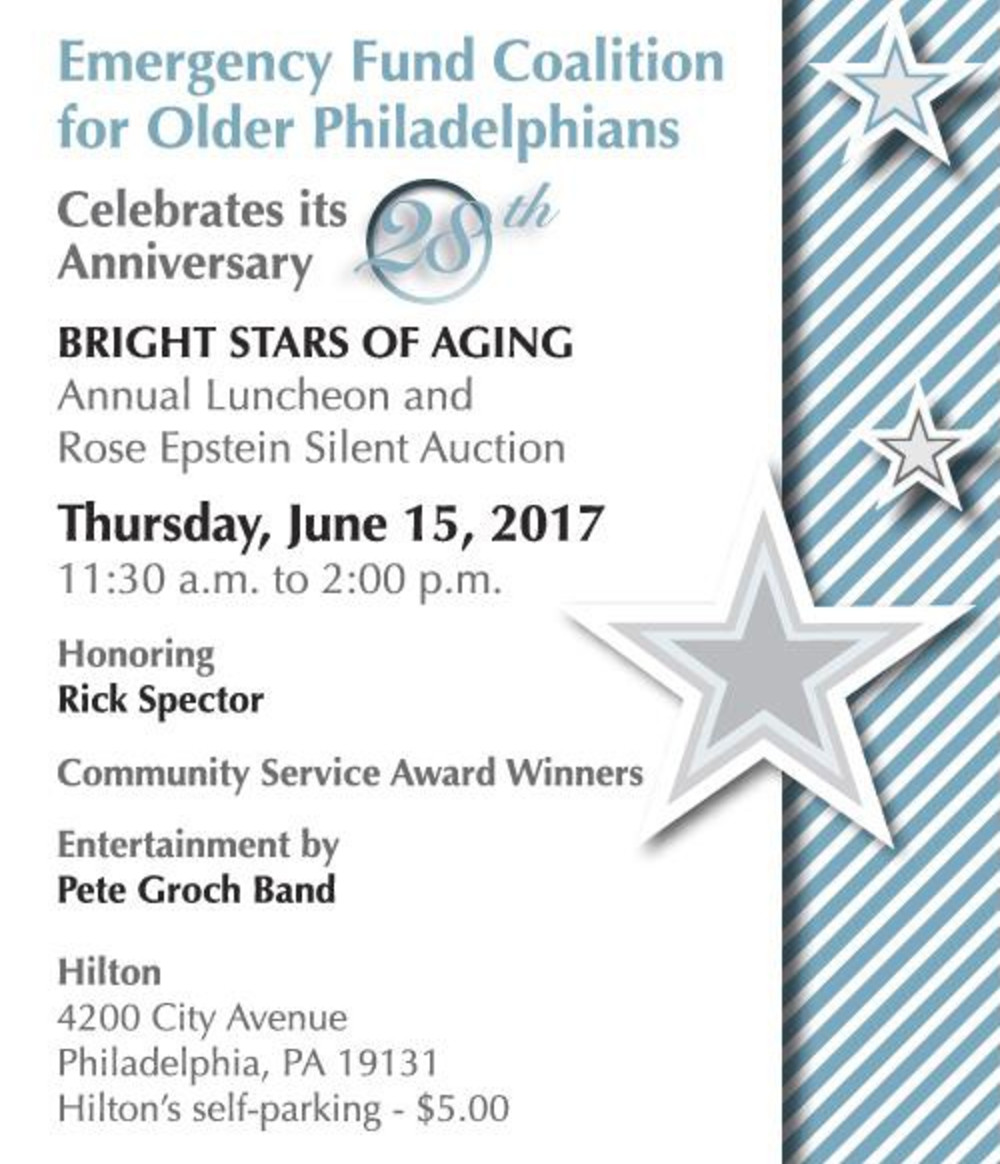 28th Annual Emergency Fund Coalition Luncheon: Thursday, June 15