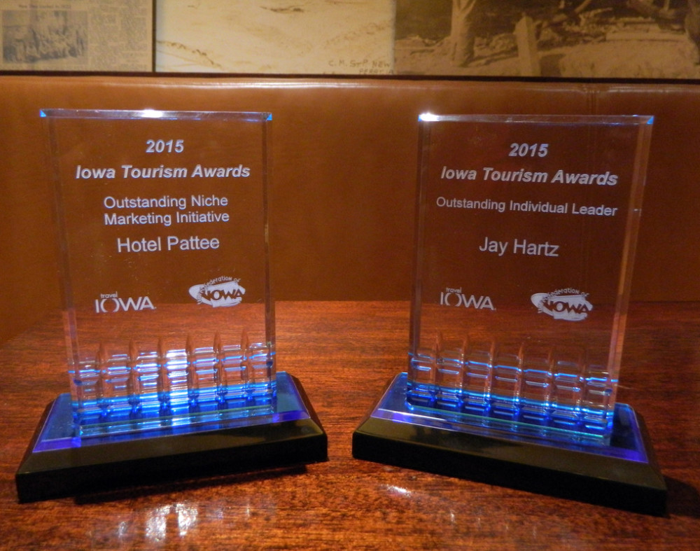 Another Award winning Year for the Hotel Pattee