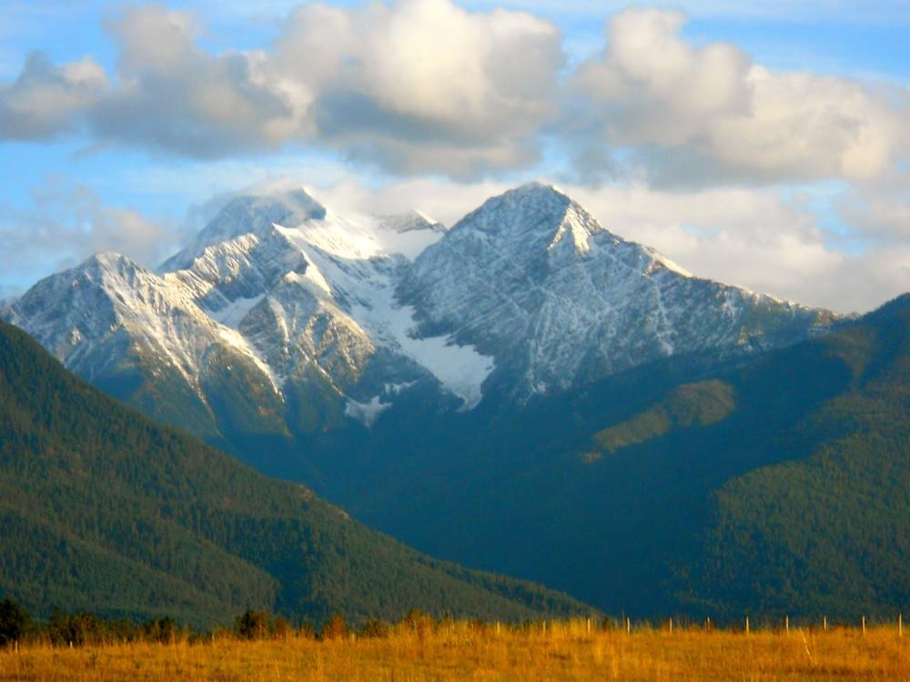 Sheep's Head Peak near Bed and Breakfast St. Ignatius, Montana