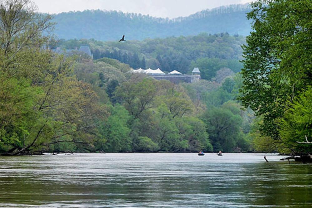 Kayaking by Biltmore
