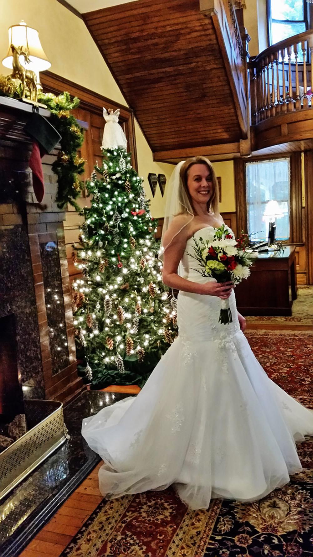 Christmas-time Bride