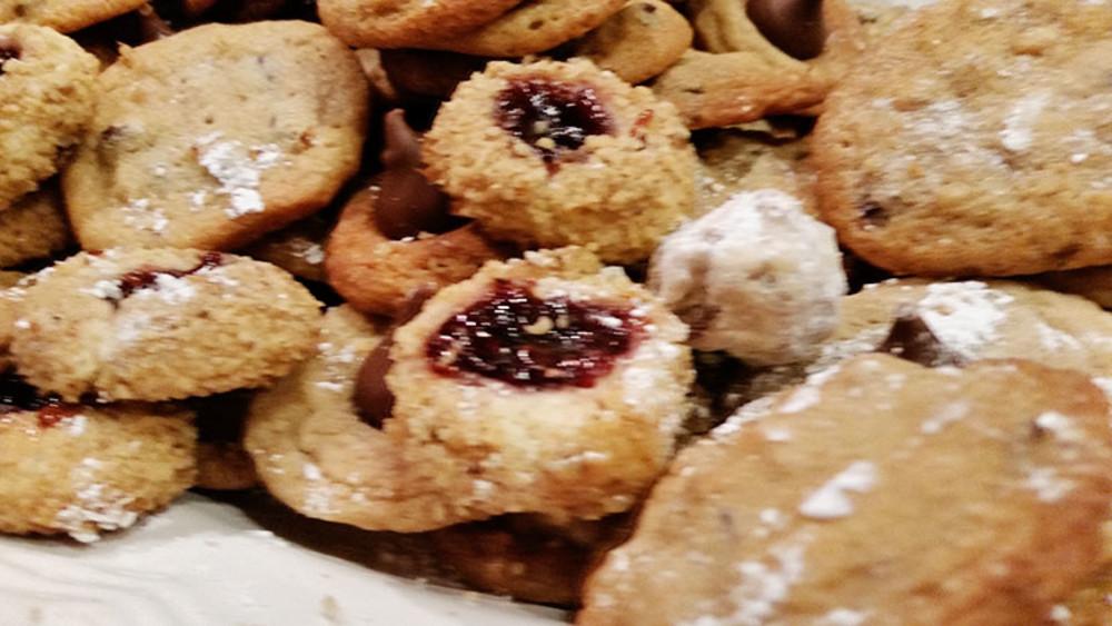 Cardamom & Fig Thumbprint Cookies