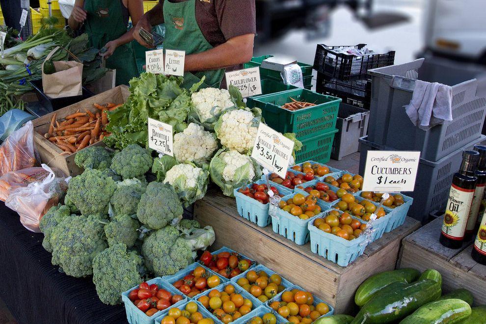 Madison Farmer's Market is Open