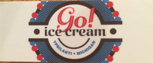 Ice Cream in Downtown Ypsilanti, MIchigan