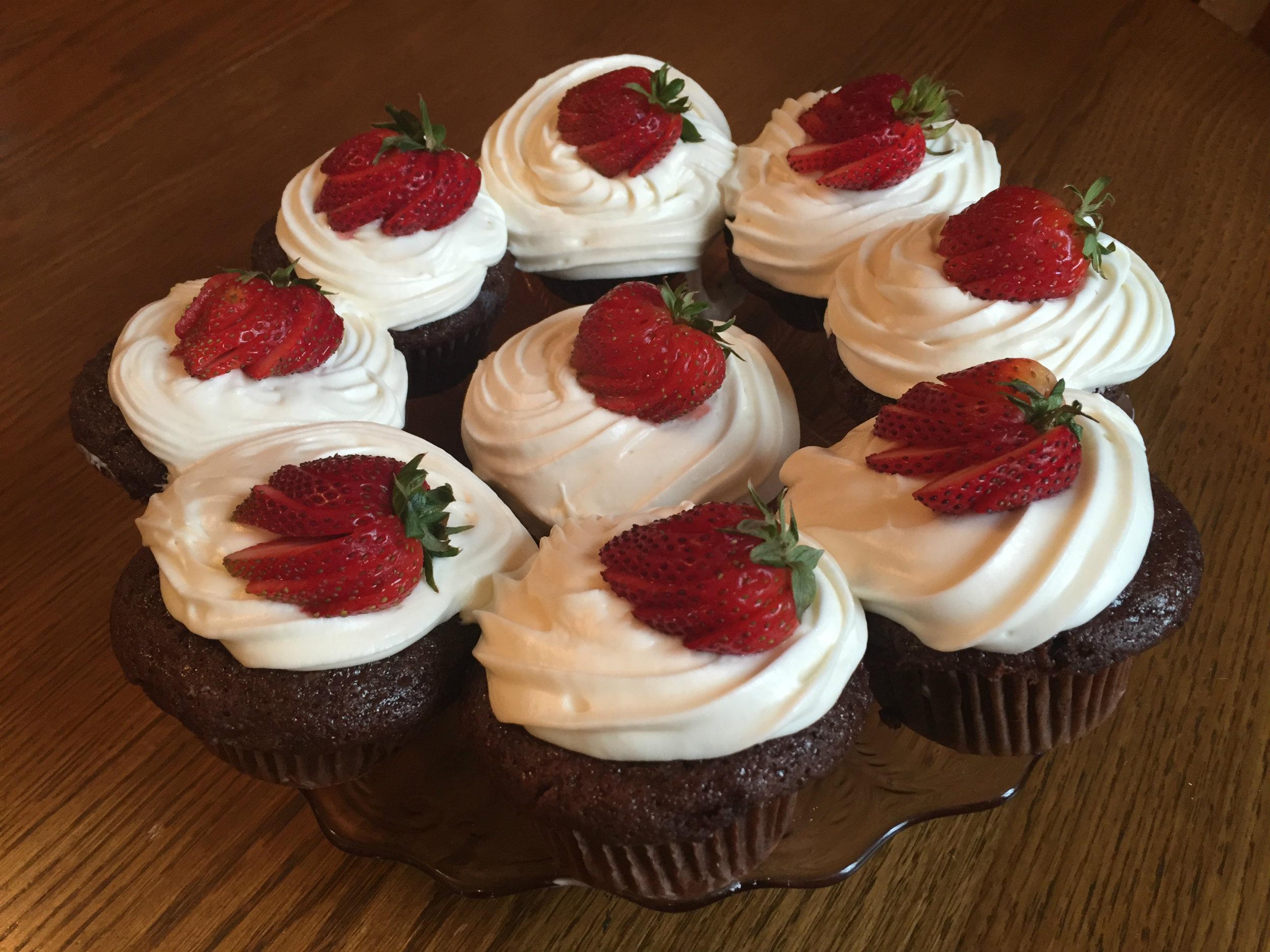 Devils Food Cake from Ypsilanti's Parish House Inn