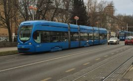 Trams in Zagreb – Croatia