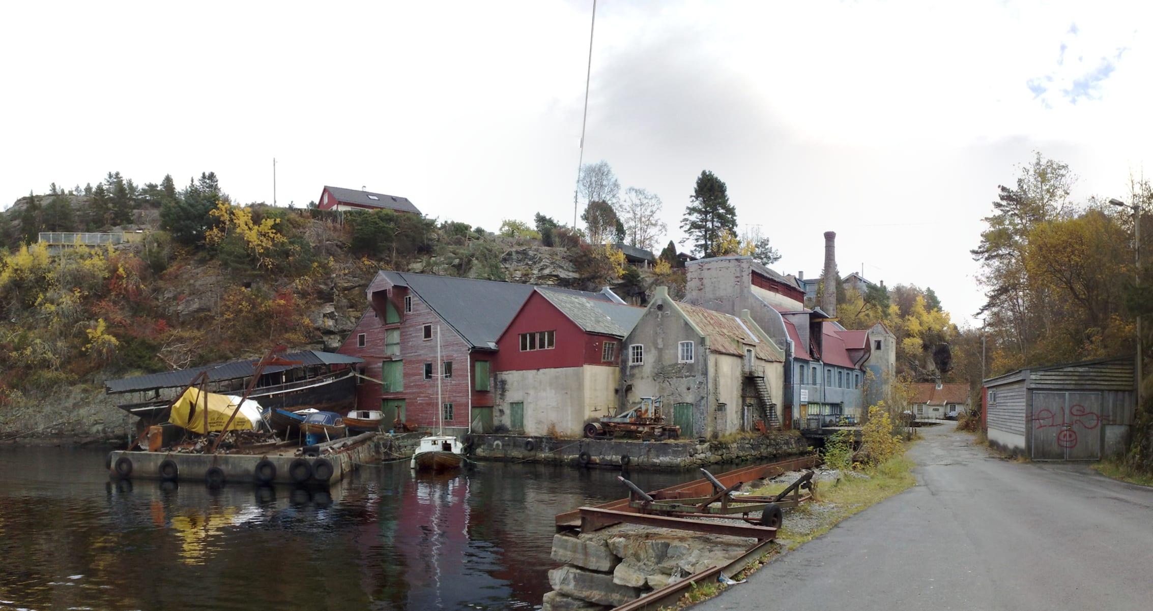 Fjordlykke: august 2009