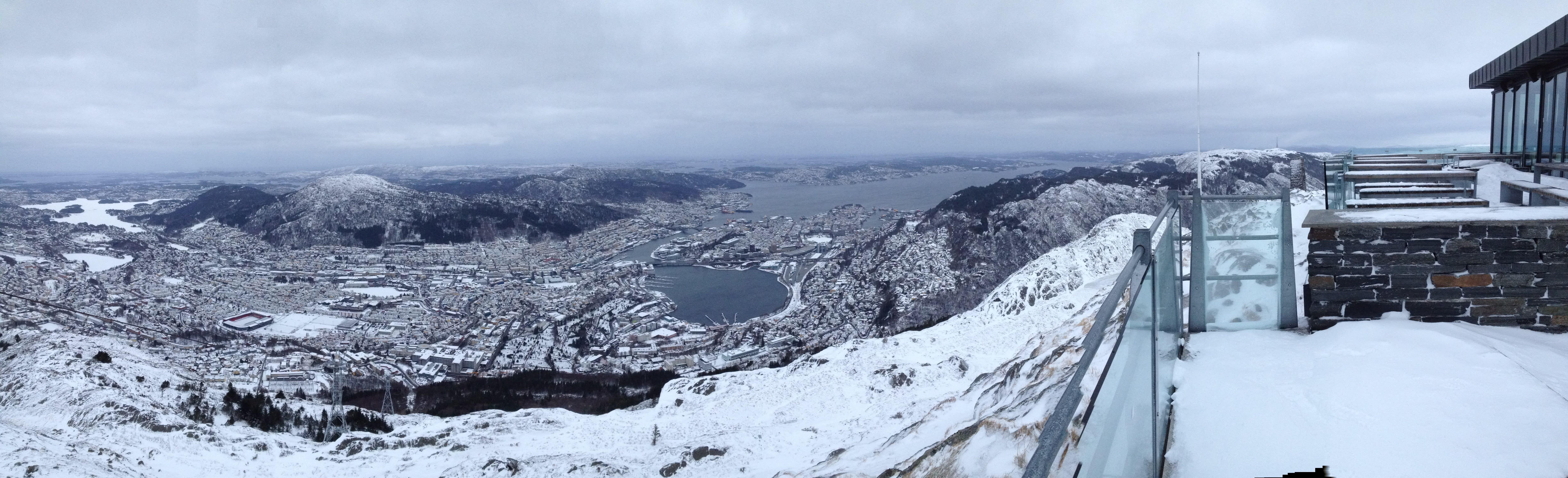 ulriken panorama bergen