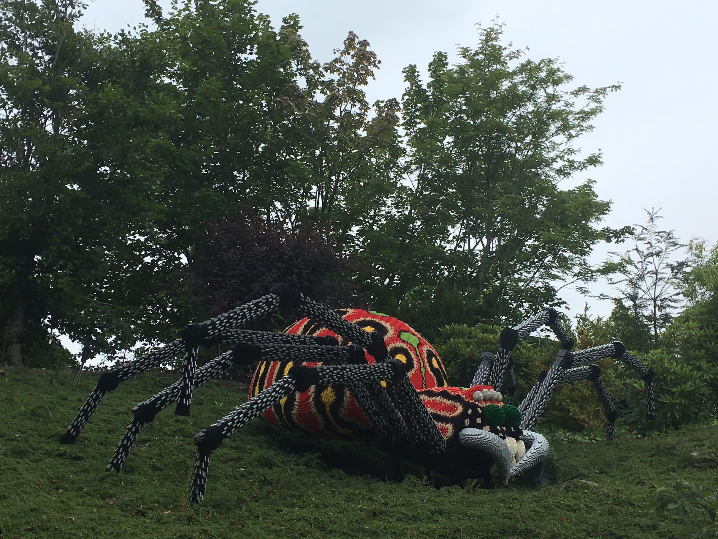 Legoland spider