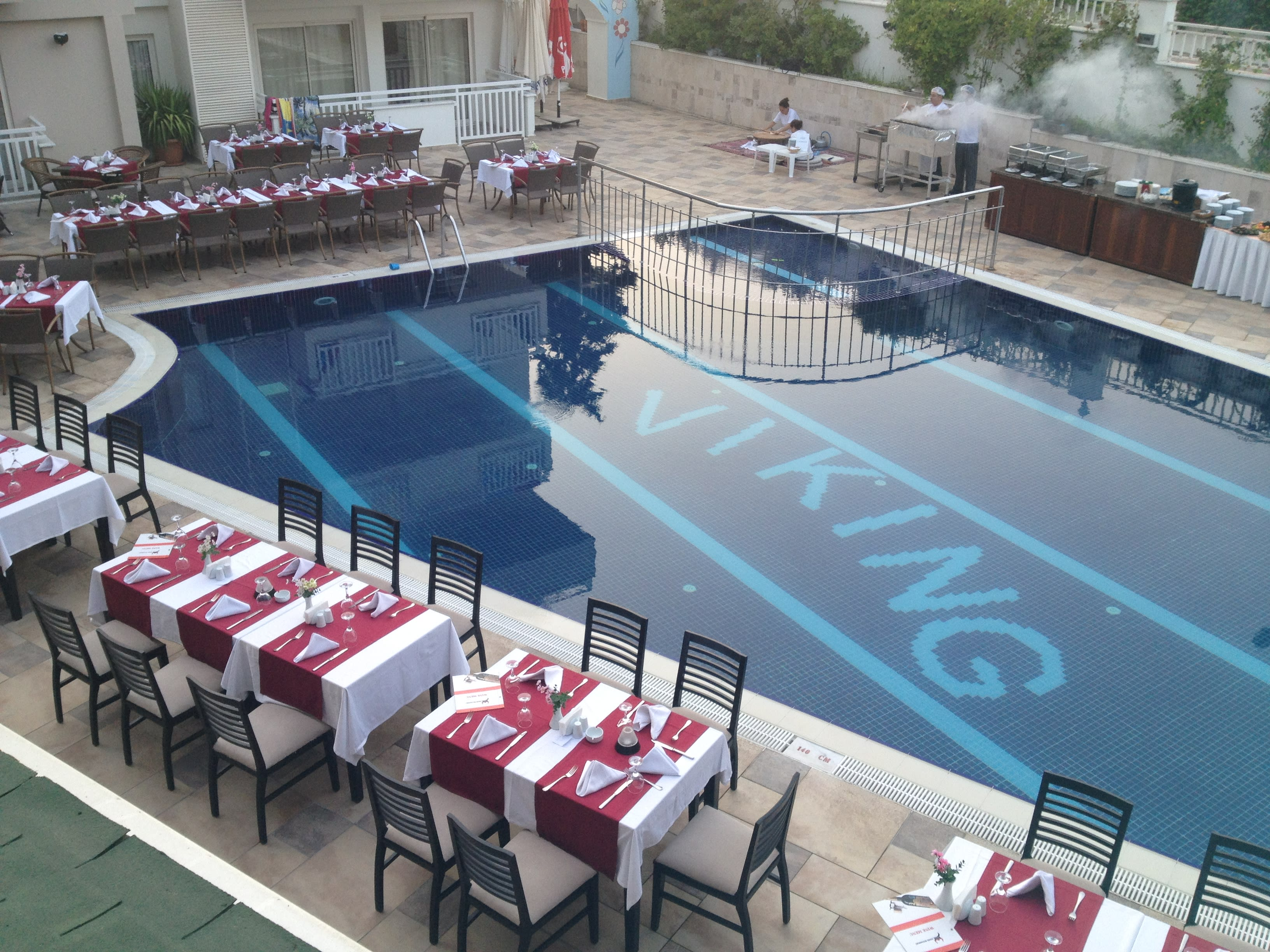 swimming pool Viking apart