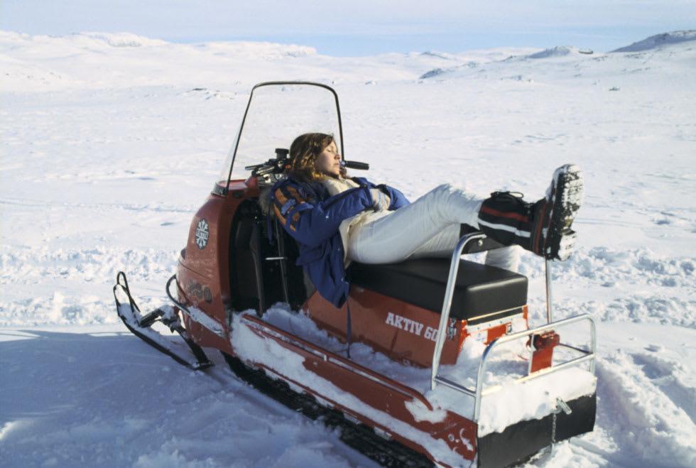Carrie Fisher - Hardangerjøkulen