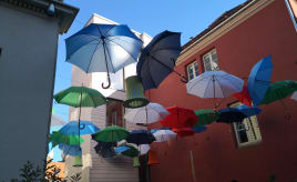 Wordless Wednesday - umbrellas|Ordløs onsdag - paraplyer