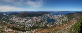 Ulriken panorama