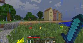 Minecraft Bryggen