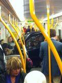 car in train