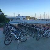 biking in Rovinj
