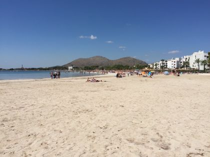 Port Alcudia - beach