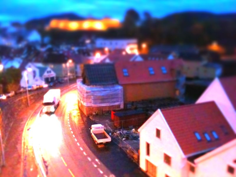 Sverresborg tilt shift