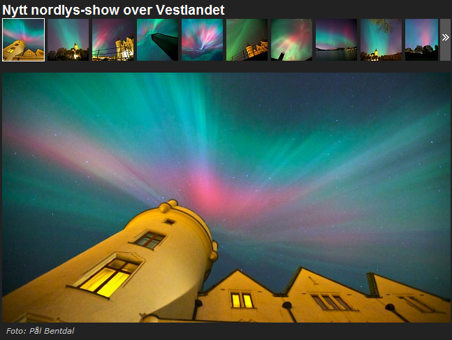 nordlys aurora borealis