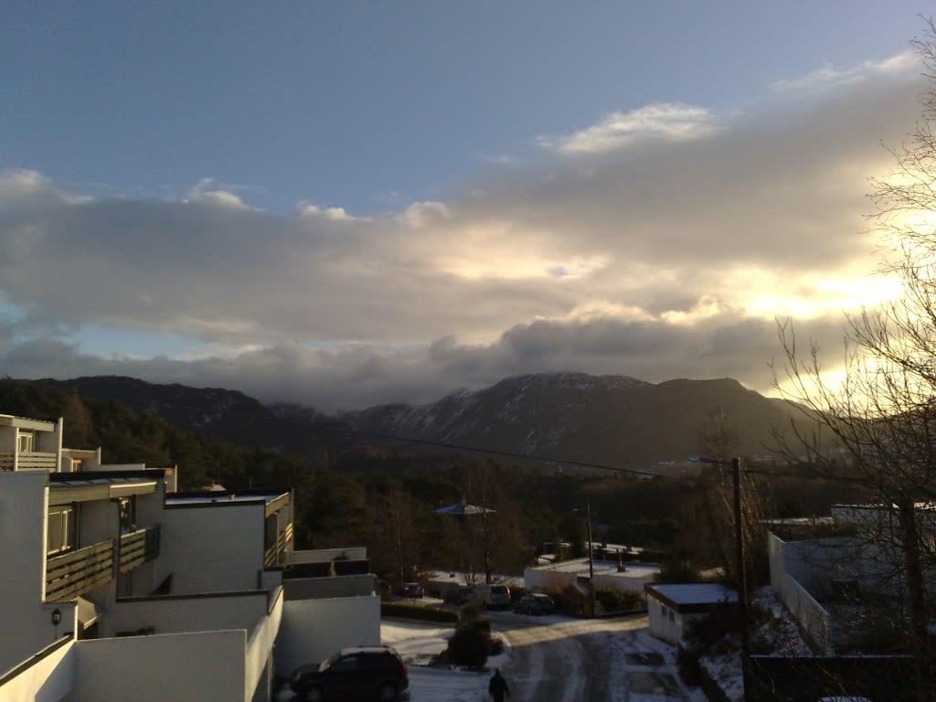 Christmas weather in Bergen|Juleværet i Bergen