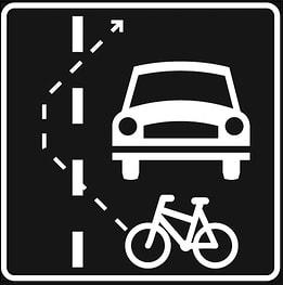 Helping bicyclers|En liten hjelpeaksjon til syklistene