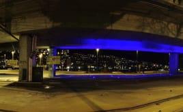 The bridge has the blues|Broen har blå dager
