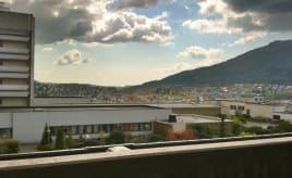 View from the hospital room|Utsikt fra Haukeland
