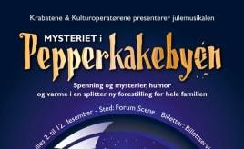 Mystery in the Gingerbread city|Mysteriet i Pepperkakebyen